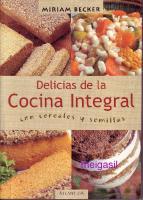 Delicias De La Cocina Integral