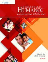 Desarrollo humano: una perspectiva del ciclo vital  9786075197326, 607519732X