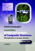 Design and Analysis of Composite Structures Christos Kassapoglou: With Applications to Aerospace Structures (2nd Edition) [2]