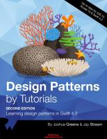 Design Patterns by Tutorials Learning design patterns in Swift 4.2 [2nd ed.]