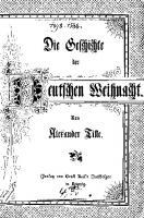 Die Geschichte der deutschen Weihnacht