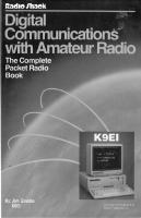 Digital communications with amateur radio : the complete packet radio book