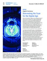 Digital Currency: Reinventing the Yuan for the Digital Age