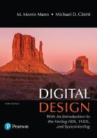 Digital Design: With an Introduction to the Verilog Hdl, Vhdl, and Systemverilog [6th edition]  9780134549897, 0134549899