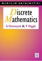 Discrete mathematics  0340610476, 9780340610473