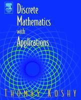 Discrete Mathematics With Applications  0124211801, 1865843830, 9780124211803