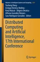 Distributed Computing and Artificial Intelligence, 17th International Conference [1st ed.]  9783030530358, 9783030530365