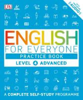 DK - English For Everyone, Level 4 Advanced - Practice Book  9780241243534