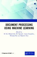 Document Processing Using Machine Learning  036721847X, 9780367218478