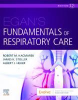 Egan's Fundamentals of Respiratory Care [12ed.]  0323811213, 9780323811217
