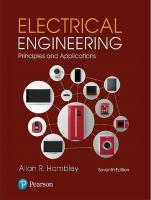 Electrical Engineering: Principles and Applications [7thed.]  9780134484143