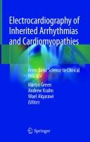 Electrocardiography of Inherited Arrhythmias and Cardiomyopathies: From Basic Science to Clinical Practice [1st ed.]  9783030521721, 9783030521738