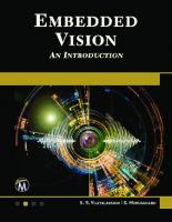 Embedded vision. An Introduction  9781683924579