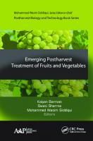 Emerging Postharvest Treatment of Fruits and Vegetables [1 ed.]