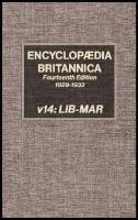 Encyclopaedia Britannica [14, 14ed.]