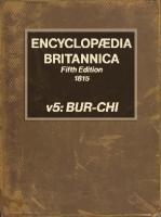 Encyclopaedia Britannica [5, 5ed.]
