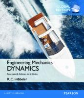 Engineering Mechanics: Dynamics [14th revised edition]  9780133915389, 1292088729, 9781292088723, 0133915387