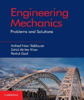 Engineering Mechanics: Problems and Solutions  1108411622, 9781108411622