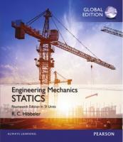 Engineering Mechanics: Statics in SI Units [14ed.]  1292089296, 9781292089294