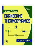 Engineering Thermodynamics [2ed.]  9788120338456