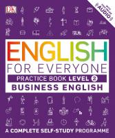 English for Everyone: Business English Practice Book Level 2  9780241275153