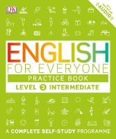 English for Everyone, Level 3 Intermediate, Practice Book  9780241243527