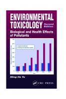 Environmental Toxicology: Biological and Health Effects of Pollutants, Second Edition [2ed.]  156670670X, 9781566706704