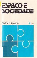 Espaço e sociedade