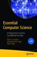 Essential Computer Science  9781484271063, 9781484271070