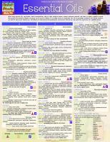 Essential Oils (Quick Study Health)  1423225899