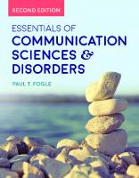 Essentials of communication sciences & disorders [Seconded.]  9781284121827, 1284121828