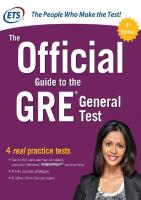 ETS - The Official Guide to the GRE 3rd Edition [3rd edition.]  9781259862410