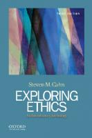 Exploring ethics: an introductory anthology [Third edition]