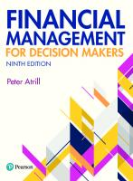 Financial management for decision makers [Ninth ed.]