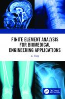 Finite element analysis for biomedical engineering applications  9780367182182, 0367182181