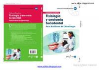 Fisiologia Y Anatomia Bucodental Para Auxilares De Odontologia