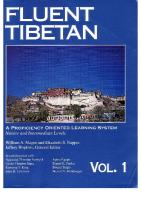 Fluent Tibetan [Vol. 1]  1559390212