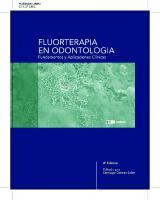 Fluorterapia En Odontologia Fundamentos Y Aplicaciones Clinicas
