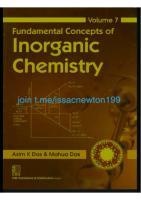 Fundamental concepts of inorganic chemistry [7]  9789389017564