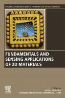 Fundamentals and sensing applications of 2D materials  9780081025789, 0081025785, 9780081025772