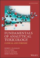 Fundamentals of Analytical Toxicology: Clinical and Forensic [2ed.]  1119122341, 9781119122340