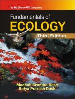 Fundamentals Of Ecology, 3Rd Edn  0070083665, 9780070083660
