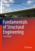 Fundamentals of Structural Engineering [2ed.]  9783319243313, 3319243314