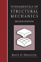 Fundamentals of Structural Mechanics [2ed.]  038723330X, 9780387233307