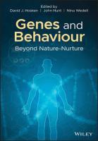 Genes and Behaviour  1119313422, 9781119313427