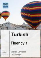 Glossika Turkish Fluency 1 [1]