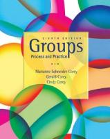 Groups process and practice [8th ed]  9780495600763, 0495600768