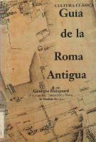 Guía de la Roma Antigua  9788493184407, 8493184403