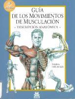 Guia De Los Movimientos De Musculacion (4ed)