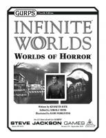 GURPS 4th edition. Infinite Worlds: Worlds of Horror
